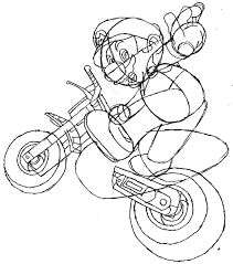 Easy Bicycle Drawing