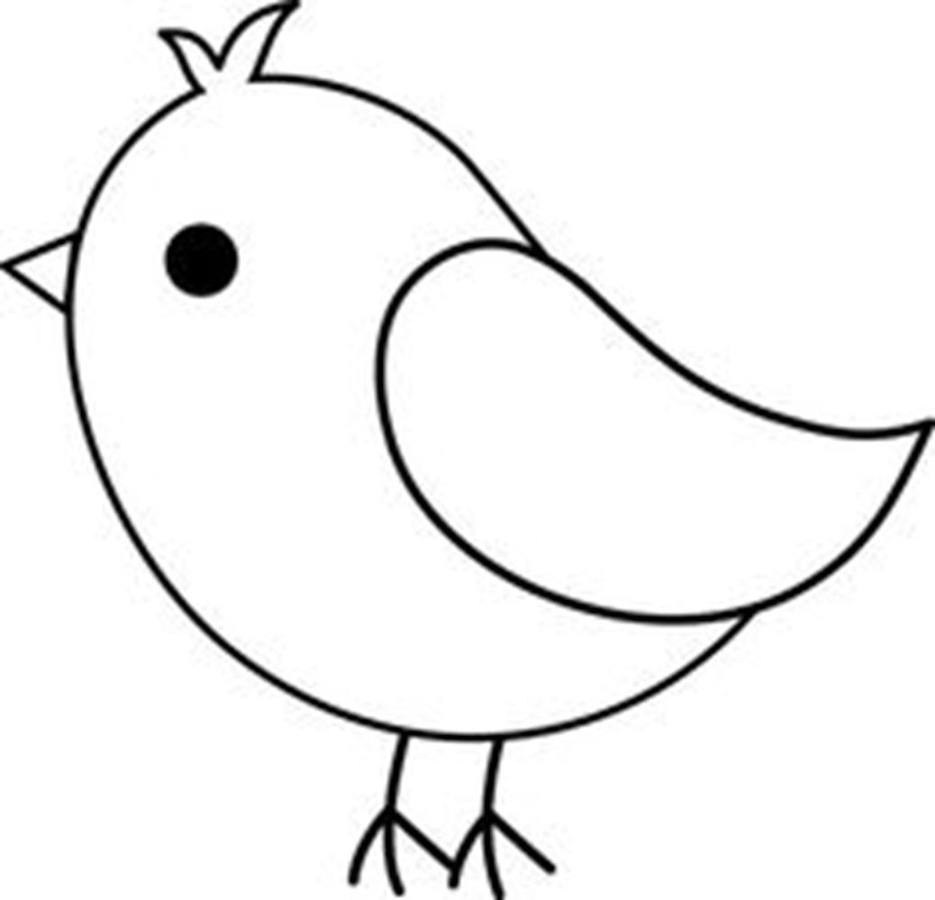 1038x999 Simple Birds To Draw