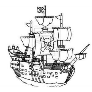 300x300 Image Result For Pirate Ship Drawing Easy Ship Concept