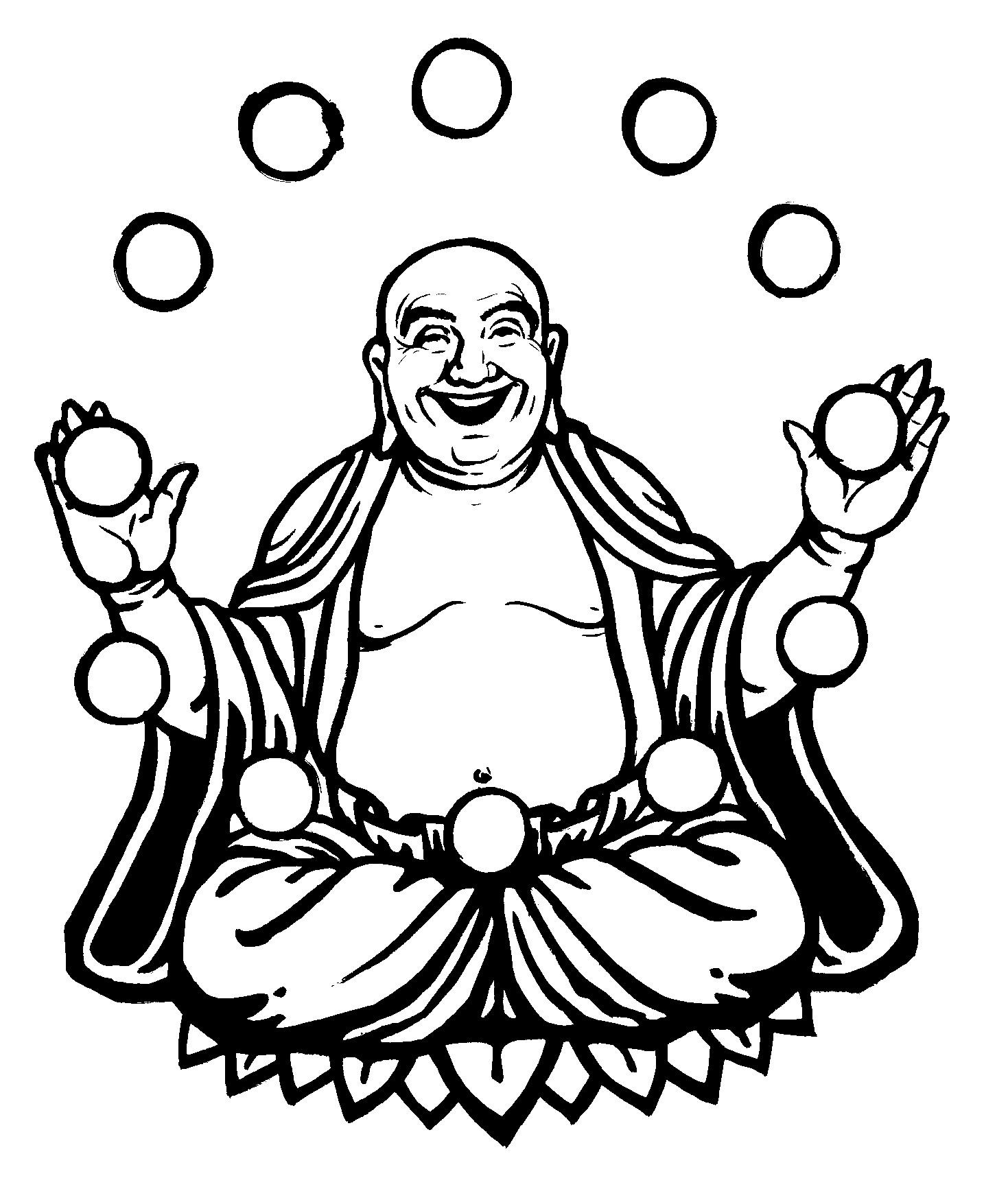1469x1749 Drawing Of A Buddha Simple Buddha Drawing