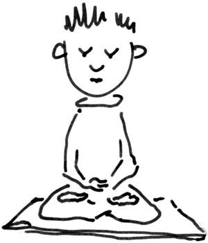 300x351 First Steps Into Buddhist Meditation Buddhism Now