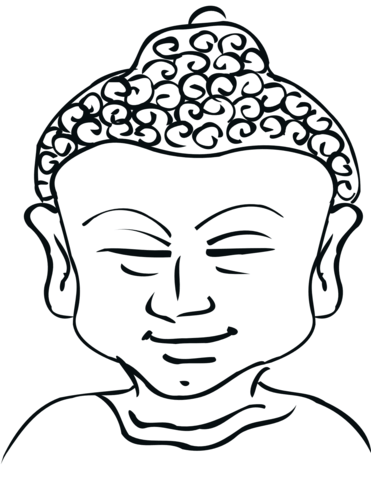371x480 Buddha Coloring Page Free Printable Coloring Pages