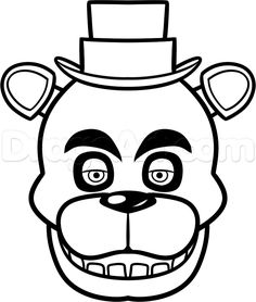 236x278 How To Draw Freddy Fazbear Easy Step 7 Party Ideas