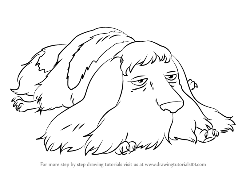 800x567 Learn How To Draw Heen From Howl's Moving Castle (Howl's Moving