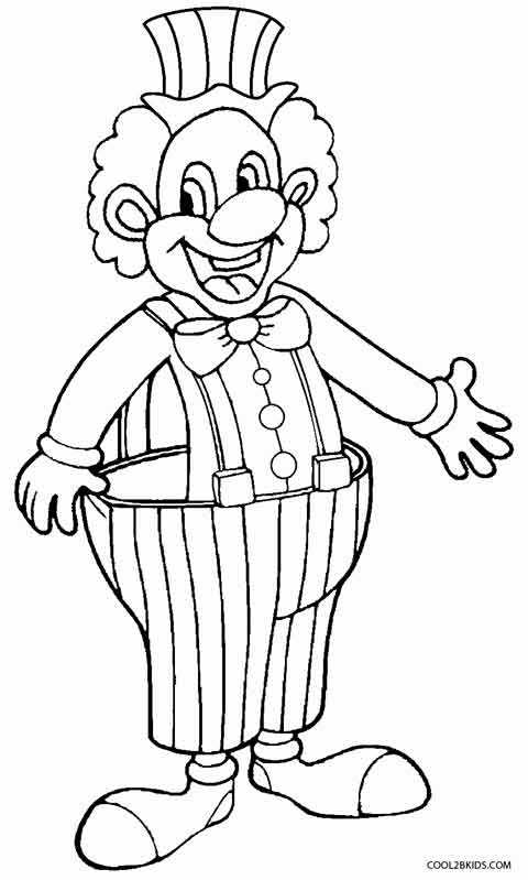 480x799 Download Coloring Pages Draw A Clown