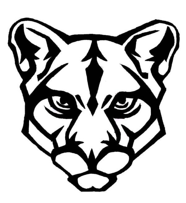 easy cougar drawing at getdrawings com free for personal use easy rh getdrawings com cougar clip art templates cougar clip art free