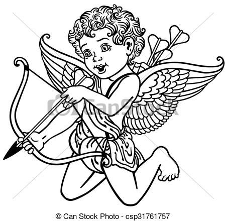 450x440 Best Cupid Drawing Ideas On Florida Outline, Color