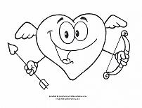 202x155 Valentines Day Coloring Pages