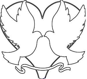 300x271 Coloring Pages Good Looking Simple Cupid Drawing Valentine 50