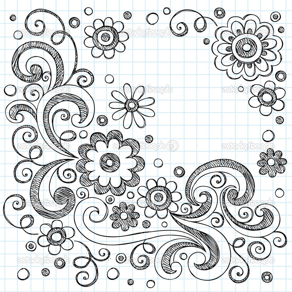 Cute Designs To Draw Part - 19: 1024x1024 Cute Drawing Designs Easy Cute Drawing Designs Cute Easy Flowers