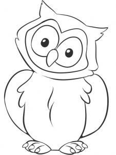 226x302 Drawing An Owl On Cartoon Owls How To Draw And Owl