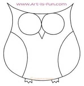 296x300 Best Photos Of Cute Owl Outline To Trace