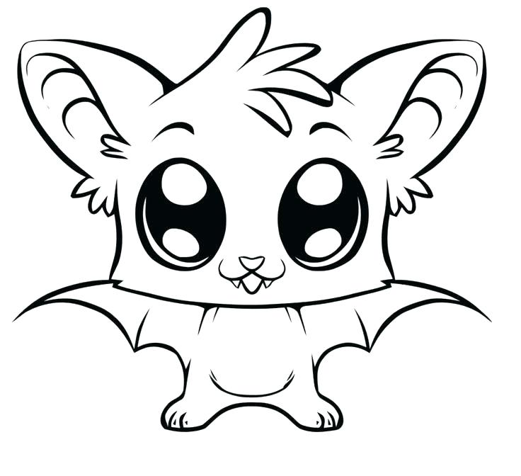 736x672 Cute Owl Coloring Page