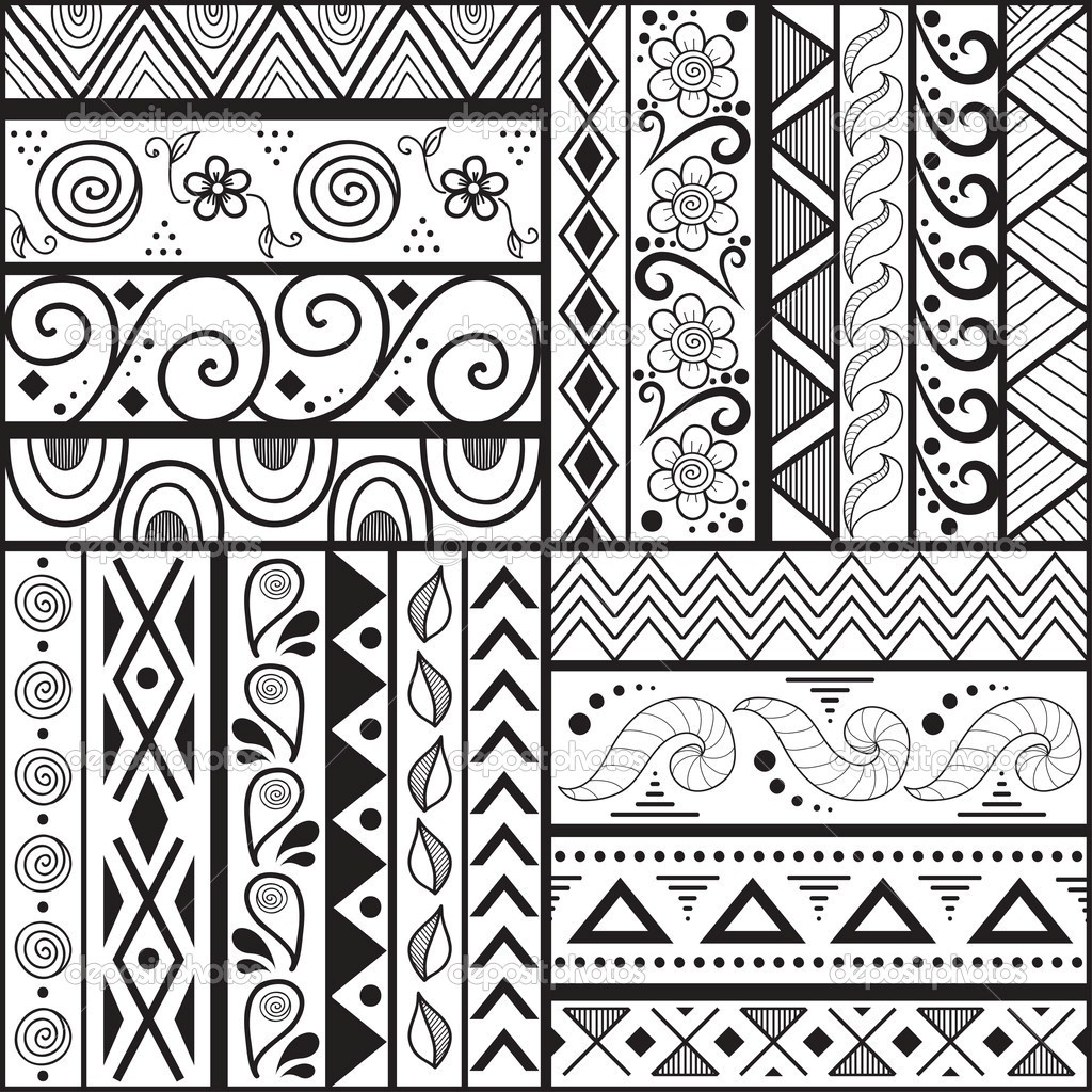 1024x1024 Easy Designs To Draw Easy Patterns To Draw On Paper Q Pattern Easy