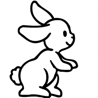 320x320 Easy Drawings Of Rabbits Do You Love Drawing Animals A Rabbit