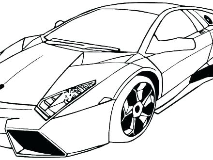 440x330 Kindergarten Coloring Pages Easy Cars Home Simple Car S 7 Ca