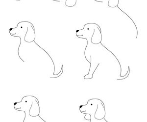 300x250 Easy Drawing Tutorial Dog~ Pin On We Heart It