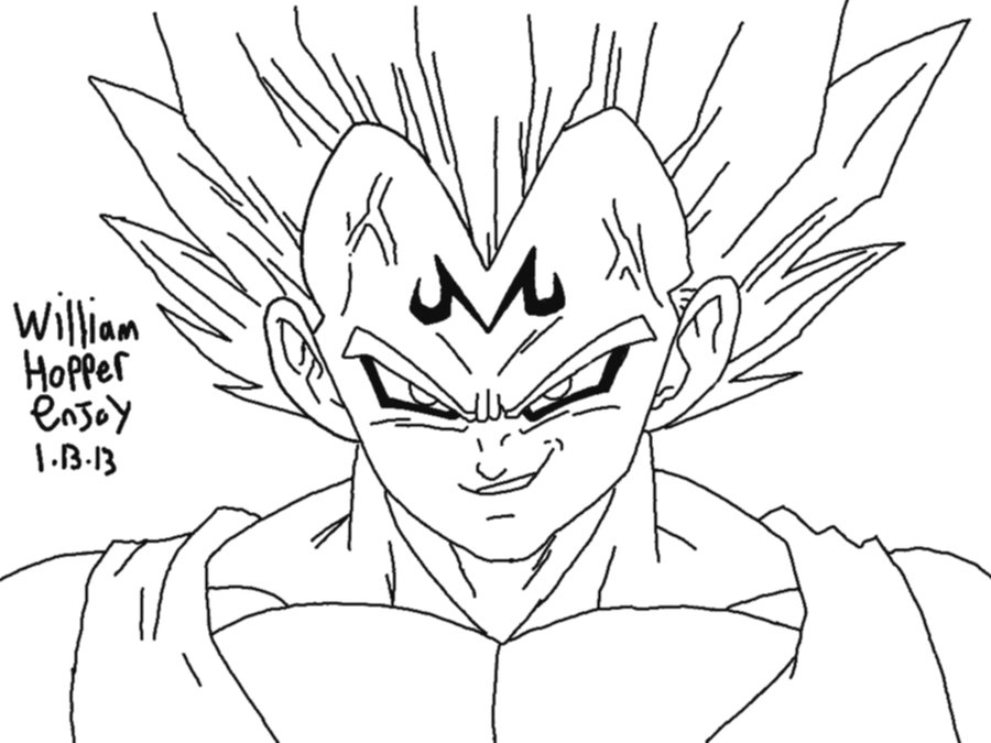 900x675 easy dragon ball z drawings free download