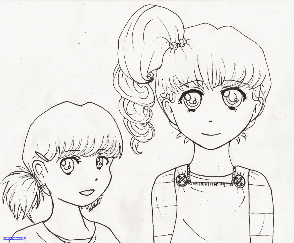 1024x848 Easy Drawing For Girls