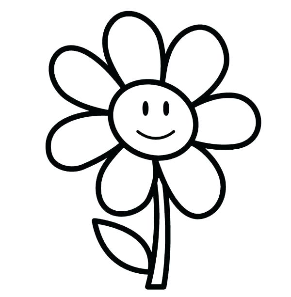 600x613 Flower Girl Coloring Books Together With Easy Coloring Pages