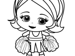 320x240 Little Girls Coloring Pages Little Girl Coloring Page Vitlt Easy