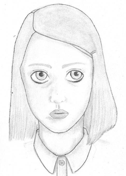 487x680 Margot Tenenbaum. People. Drawings. Pictures. Drawings Ideas