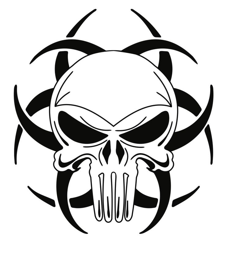 735x847 Photos Cool Easy Skull Drawings,