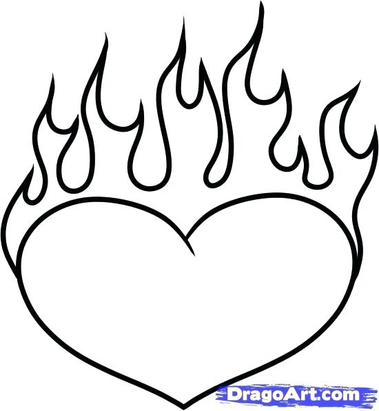 550x596 Pretty Heart Drawings Image Result Easy Drawing Ideas