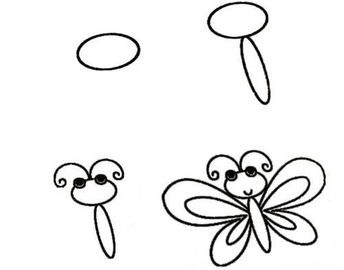 500x392 Wonderful Idea For Drawing Easy Animal Figures