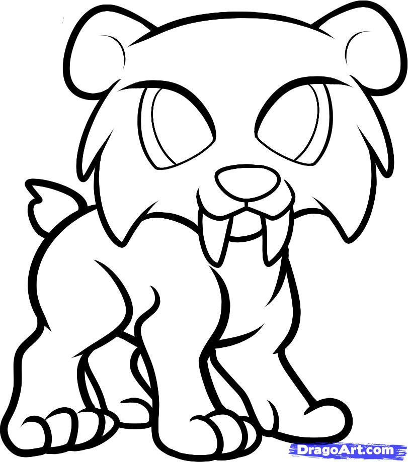 811x919 Easy Tiger Face Coloring How To Draw A Step By Animals