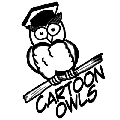 400x400 How To Draw Owls Simple Steps To Cartooning A Comic Owl