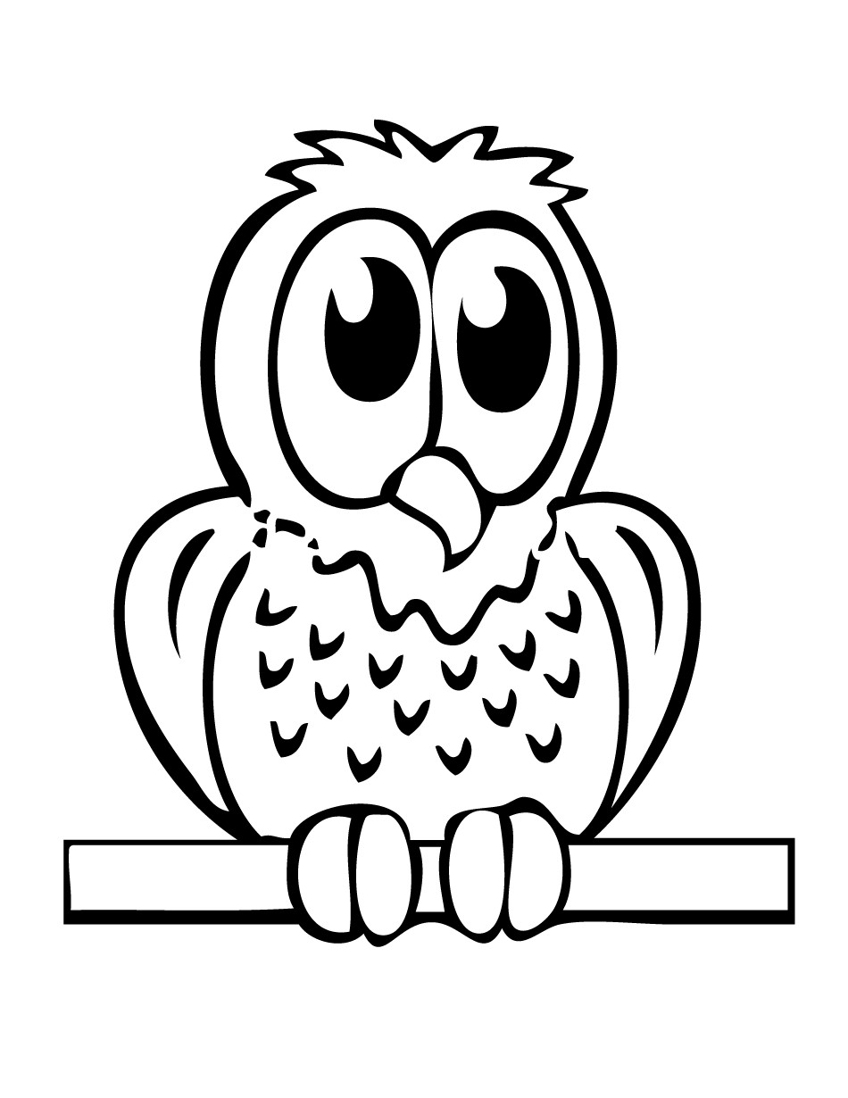 950x1230 Easy Bird Coloring Pages Best Of Cartoon Owl Coloring Pages Free