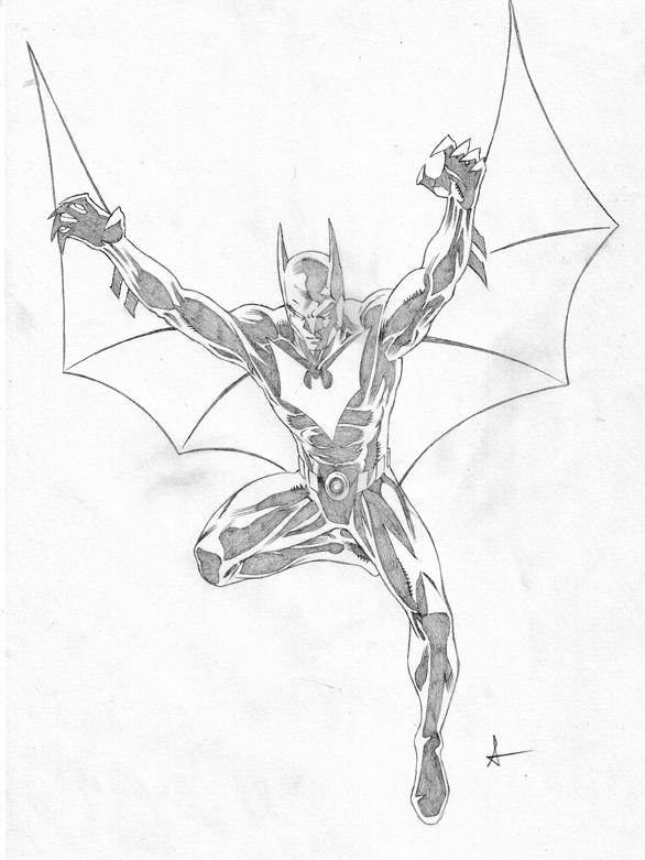 586x781 Terry Batman Pencils By Sean Izaakse