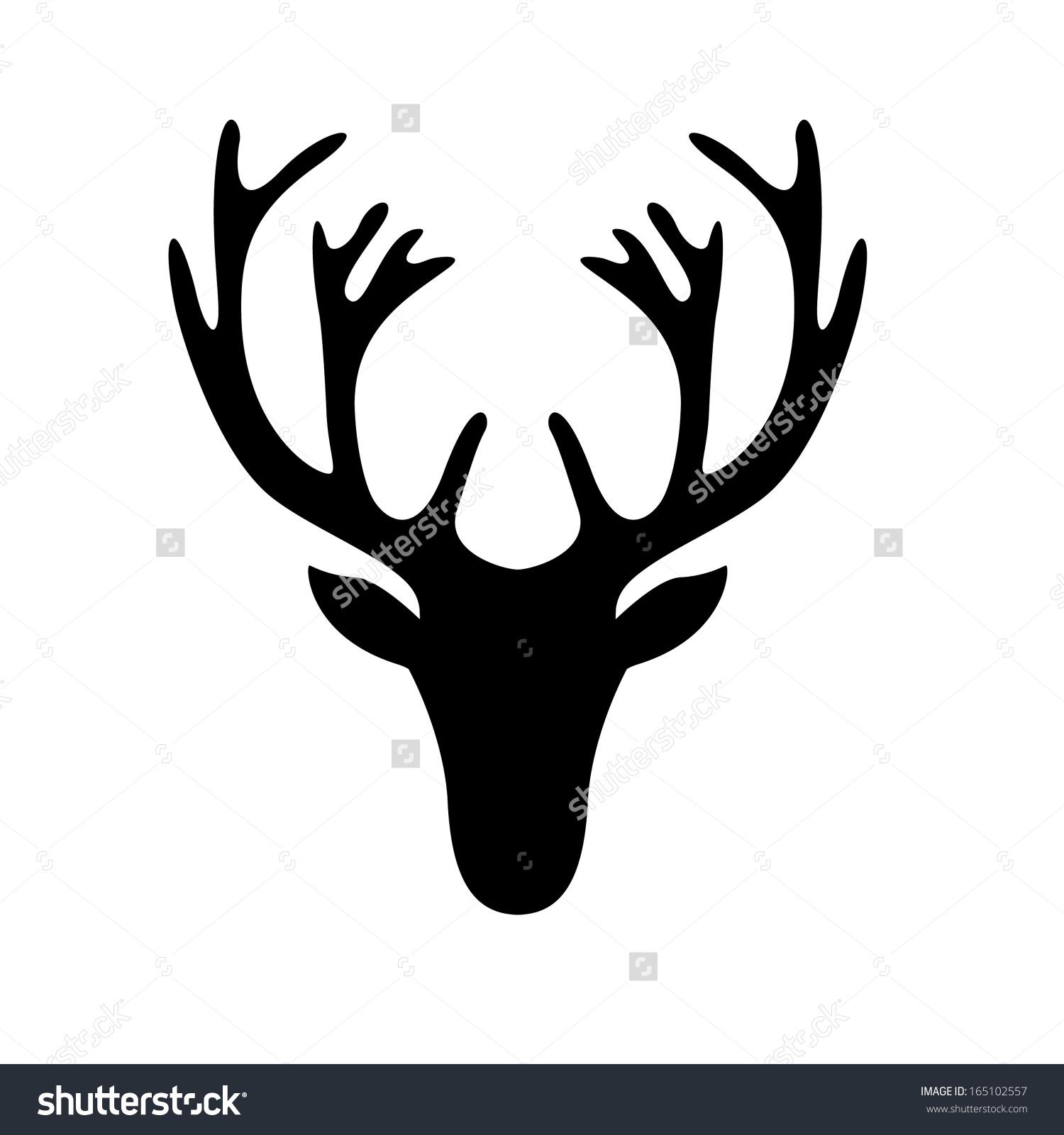 Easy Drawing Deer at GetDrawings