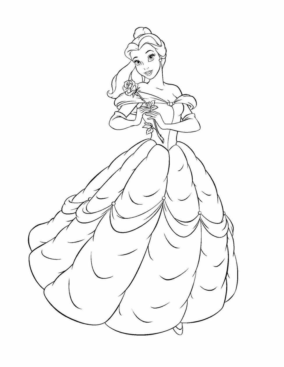 976x1264 Beauty And The Beast Characters Drawings