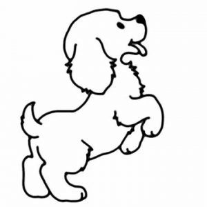 300x300 Baby Dog Pets And Animals Easy Drawing How To Draw A Adult