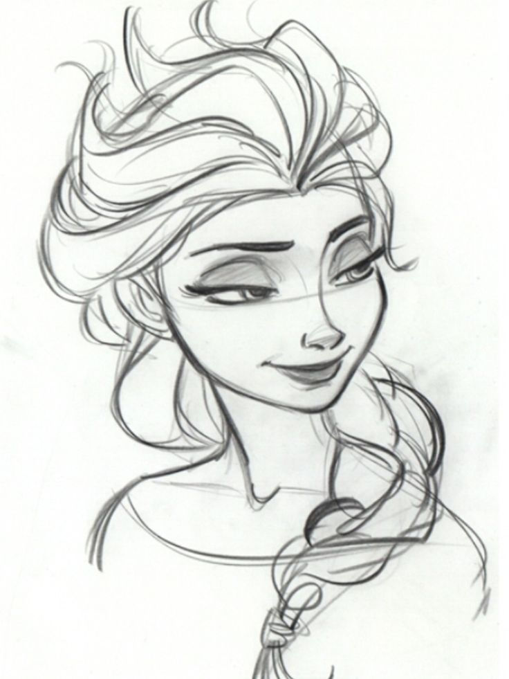 736x981 Step By Step Drawing Of Elsa How To Draw Elsa From Frozen