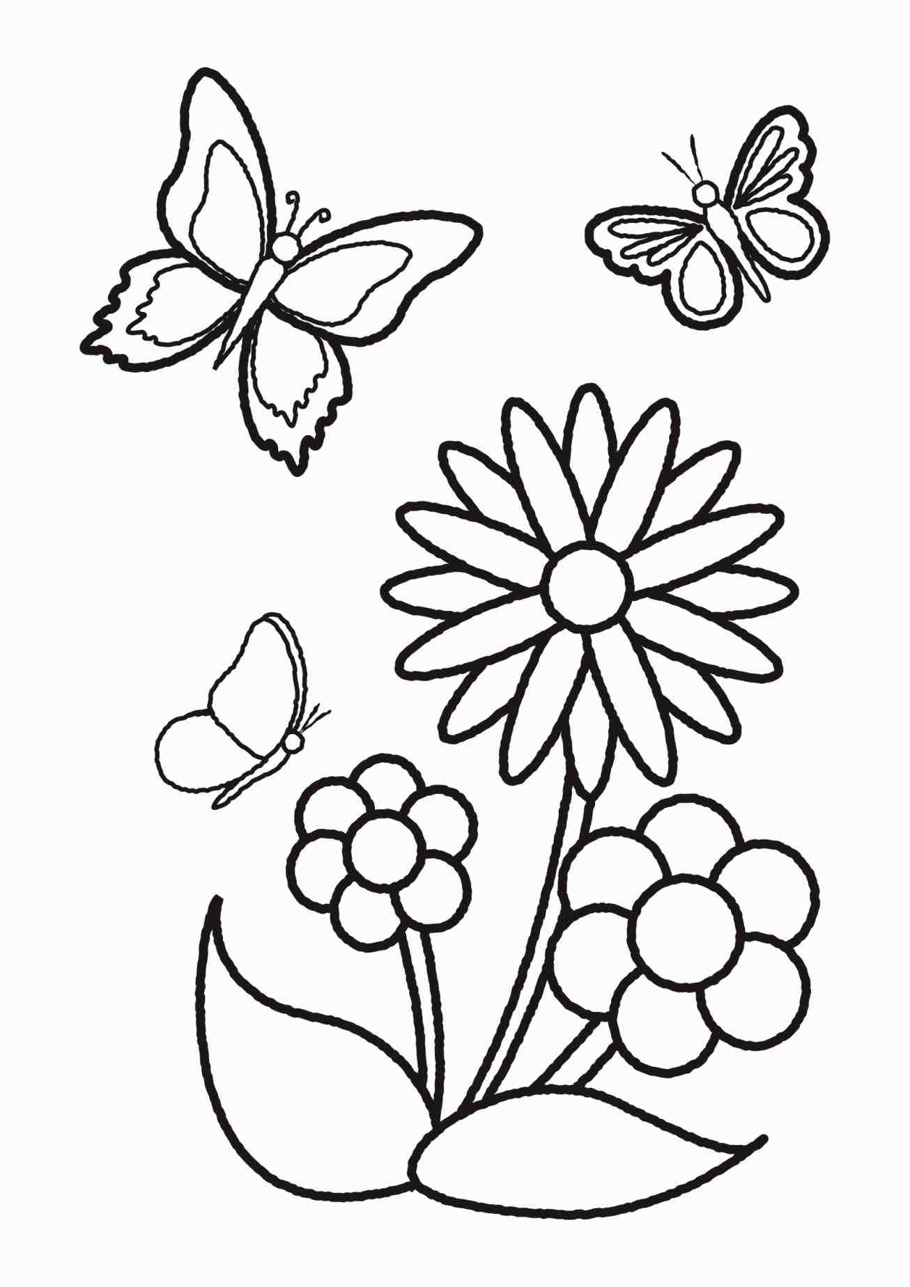 Easy Drawing Of Flowers At Getdrawings Com Free For Personal Use