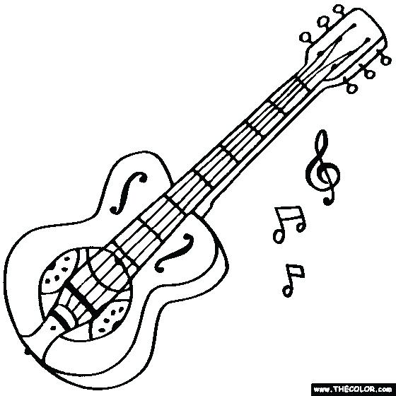 Easy Drawing Of Guitar At Getdrawings Com Free For Personal Use