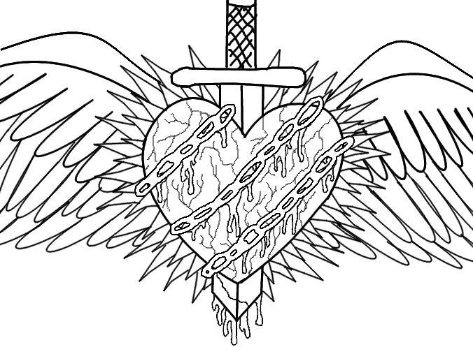 676x507 Drawn Hearts Emo