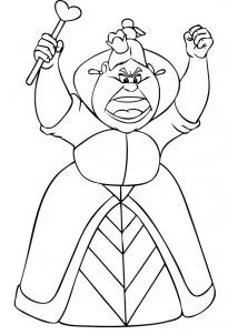 205x302 How To Draw How To Draw The Queen Of Hearts