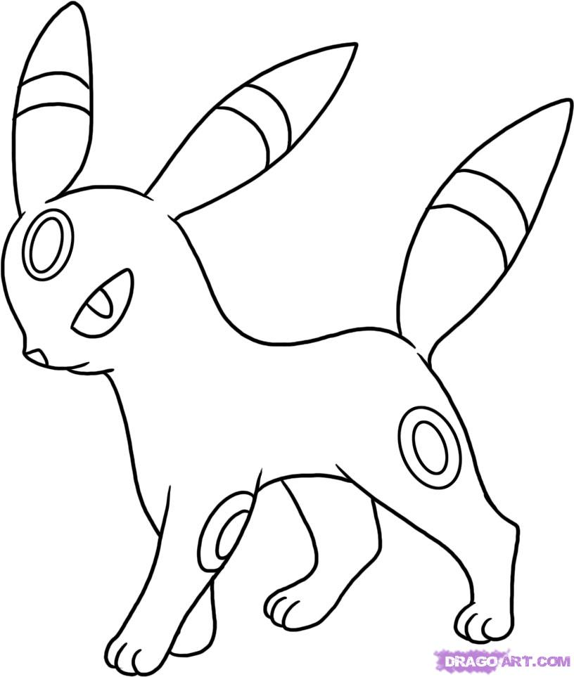Easy drawing of pokemon at getdrawings free for personal use how to draw umbreon from pokemon thecheapjerseys Gallery