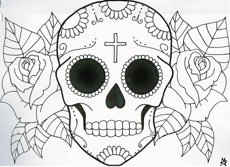 Easy Drawing Of Skulls
