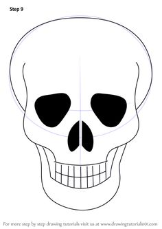 236x333 Skull Is A Structure Of Human Head. It Is Very Easy To Draw It
