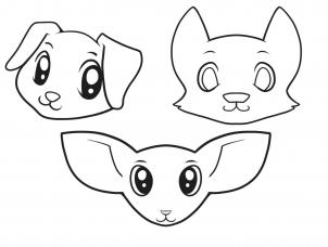 302x228 How To Draw How To Draw Dogs For Kids