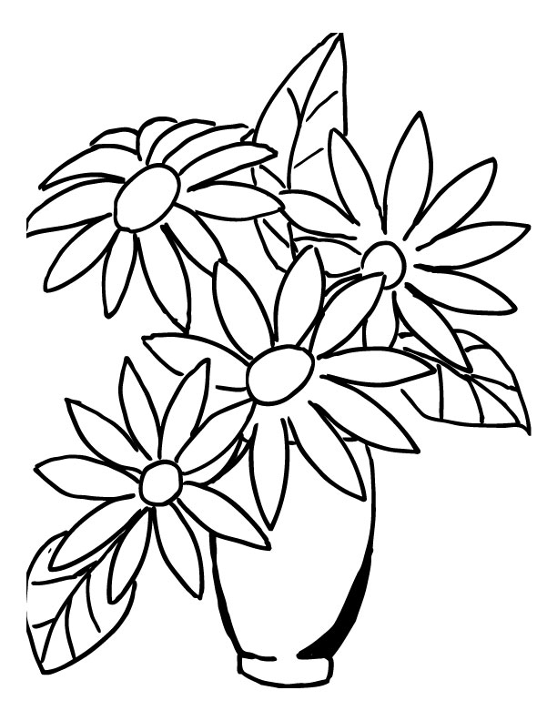 Easy drawing pictures of flowers at getdrawings free for 612x792 how to draw a realistic bouquet flower step by step for wedding mightylinksfo Image collections