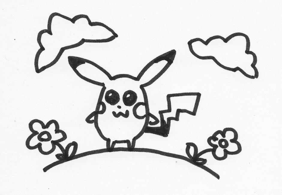 940x652 Pikachu Fairy Tale Characters. Drawings. Pictures. Drawings