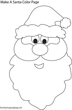 236x357 How To Draw Santa Claus Face Easy Tags Draw Santa Claus Face