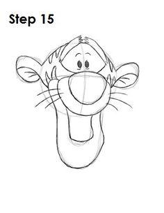 236x305 Tigger Drawing Drawings Tigger, Drawings And Sketches