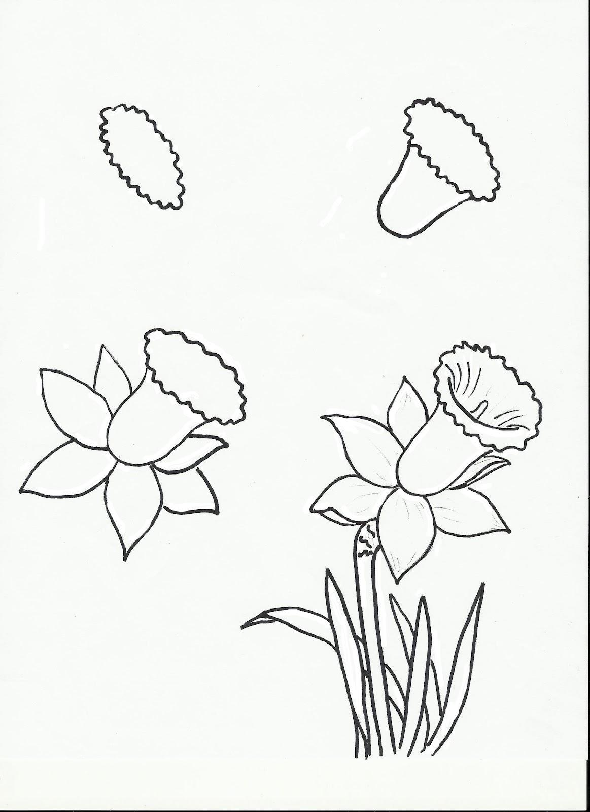 1163x1600 Flowers, Flowers, Flowers! Art Class Ideas Drawing Ideas
